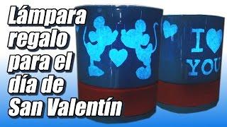 getlinkyoutube.com-Lámpara regalo para el día de San Valentín, cómo se hace