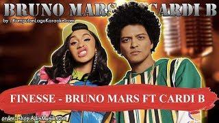 FINESSE -  BRUNO MARS FT CARDI B Karaoke