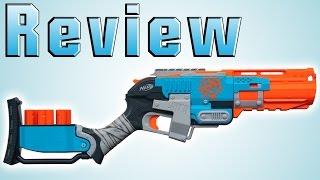 getlinkyoutube.com-Nerf ZombieStrike Sledgefire Review [deutsch/german]
