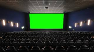 getlinkyoutube.com-Cinema (Movie Theater, Movie House) with green screen - FreeHDGreenscreen Footage