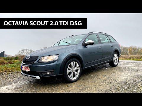 Skoda Octavia Scout - идеальный выбор для украинских дорог