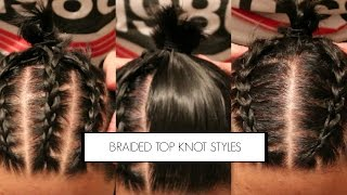 getlinkyoutube.com-3 BRAIDED MAN BUN/TOP KNOT HAIRSTYLES FOR MEN| MENS HAIR| BRANCH1302