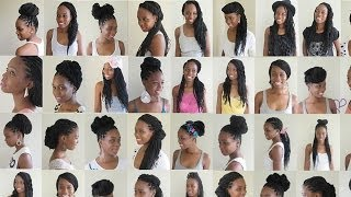 getlinkyoutube.com-30 Box Braids Styles !
