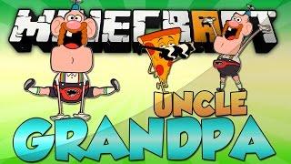 getlinkyoutube.com-Minecraft: UNCLE GRANDPA MOD