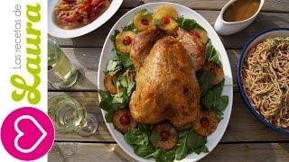 getlinkyoutube.com-Como preparar PAVO AL HORNO jugoso y tierno - A la Hawaiana con vino blanco - Oven Roasted Turkey