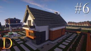 MINECRAFT PORADNIK - Jak zbudować: modern house z basenem [#6]