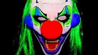 getlinkyoutube.com-eRaness - Scary Clown Makeup Tutorial