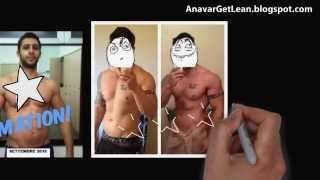 getlinkyoutube.com-Anavar results for men (Before And After Transformation)