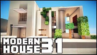 getlinkyoutube.com-Minecraft - Modern House 31