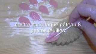 getlinkyoutube.com-Gâteaux des fêtes la tresse حلويات الافراح