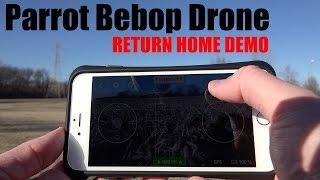 getlinkyoutube.com-Parrot Bebop Drone Return Home Demonstration in 4K UltraHD