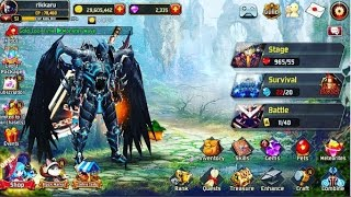 getlinkyoutube.com-KRITIKA : The white KnightS Free wing (How to get free avatar)