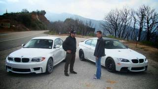 getlinkyoutube.com-BMW 1 Series M Coupe vs BMW M3