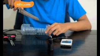 getlinkyoutube.com-C164nilni tips membuat tempat cash hp dari botol