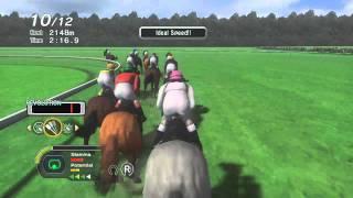 getlinkyoutube.com-Champion jockey - G1 Jockey & Gallop Racer - Showroom - PS3 Xbox360 Wii