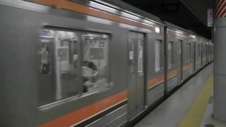 getlinkyoutube.com-武蔵野線205系5000番台発車 京葉線205系到着 東京駅