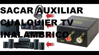 getlinkyoutube.com-Como Sacar Audio auxiliar cualquier TV