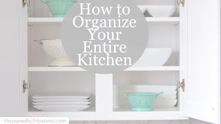 getlinkyoutube.com-Kitchen Cabinet and Drawer Organization