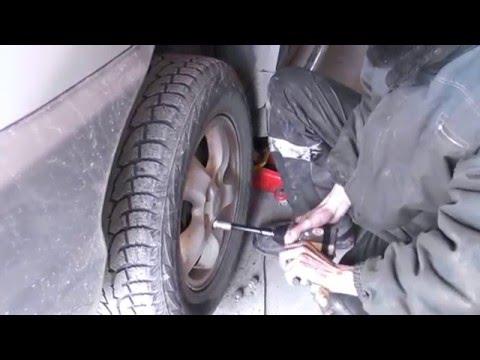 """ГТ"" Hyundai Santa Fe 2005г - замена резинок стабилизатора!"