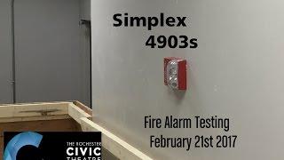 getlinkyoutube.com-Rochester Civic Theater Fire Alarm Testing 2/21/17