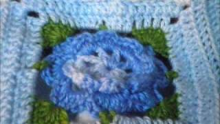 getlinkyoutube.com-T&P - So Blue - Manta a Crochet / Ganchillo