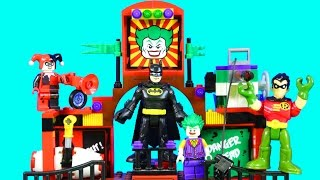 Lego Batman Movie & Imaginext Robin With Joker Phantom Projector Replicating On Earth 2 Episode