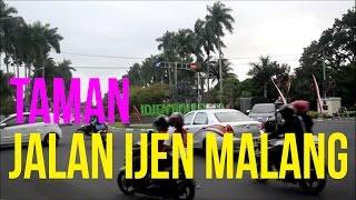 Taman Romantis di Jalan Ijen Kota Malang