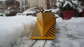 getlinkyoutube.com-Großer Schneepflug und VT 98 in der Schneeschlucht