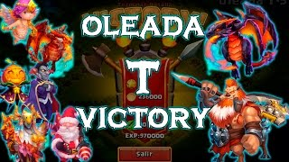 getlinkyoutube.com-Castillo Furioso - Castle Clash: Oleada T Victory