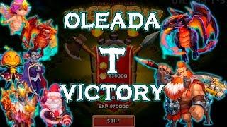 getlinkyoutube.com-Castillo Furioso - Castle Clash: Oleada T Victory