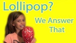 getlinkyoutube.com-CANDY TASTE TEST    LOLLIPOPS!!   WE ANSWER THAT EP. 7! SMELLYBELLYTV