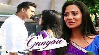 getlinkyoutube.com-Gangaa's Real Life Husband Sarwar Ahuja Enters Show | Gangaa | 12 April 2016 Episode
