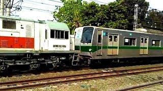 getlinkyoutube.com-Kereta Baru Aja Datang dari Jepang - KRL 東京メトロ TM6117F