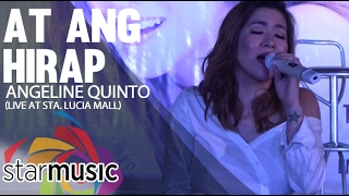 Angeline Quinto - At Ang Hirap (@LoveAngelineQuinto Album Launch)