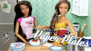 getlinkyoutube.com-How to Make: Doll Paper Plates   Plus Fun Finds - Doll Crafts