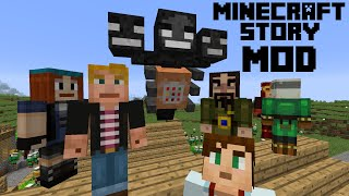 getlinkyoutube.com-[EL] MINECRAFT STORY MODE... IN MINECRAFT! + Wither Storm