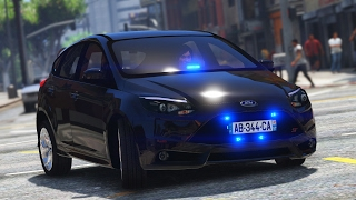 GTA 5 : BRIGADE ANTI-CRIMINALITÉ #8 | Ford Focus ST