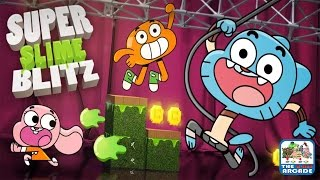 getlinkyoutube.com-Gumball: Super Slime Blitz - Can You Survive The Obstacle Course? (Cartoon Network Games)