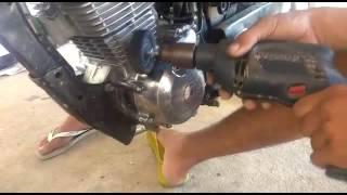 getlinkyoutube.com-Como polir o motor da moto (deixar com aspecto de cromado)