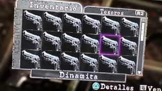 getlinkyoutube.com-Resident Evil 5 Armas Hack (Casi Todas) PS3