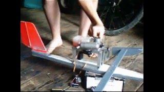Homemade RC Air Boat