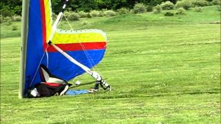 getlinkyoutube.com-Hang Glider Whack Incident - Don't Do This: