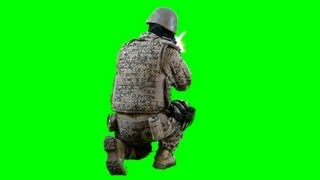 getlinkyoutube.com-soldier shoots with assault rifle - Battlefield green screen footage with sound 5