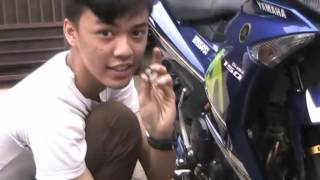 getlinkyoutube.com-Tutorial Bongkar & Pasang Knalpot Racing Yamaha MX-king 150cc