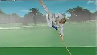 getlinkyoutube.com-Shaolin kung fu drunken staff