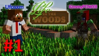 getlinkyoutube.com-Minecraft - Life In The Woods Modpack - #1