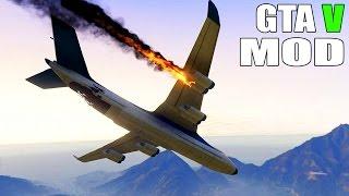getlinkyoutube.com-Grand Theft Auto V - Gameplay With CargoPlane MOD FOR GTA 5