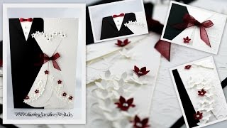 getlinkyoutube.com-[Tutorial #6] Grußkarte zur Hochzeit (Wedding Card) |HD|