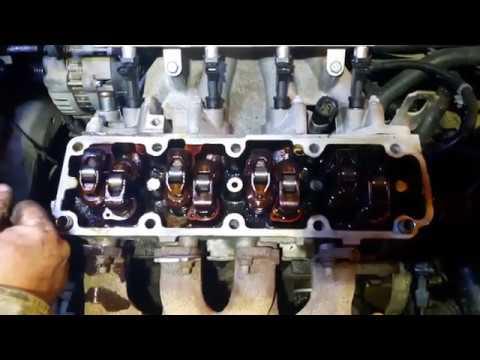Chevrolet Aveo, выявление и устранение течи масла двигателя Часть 2