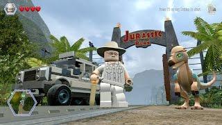 getlinkyoutube.com-LEGO Jurassic World - Free Roam Gameplay (PC) [HD]